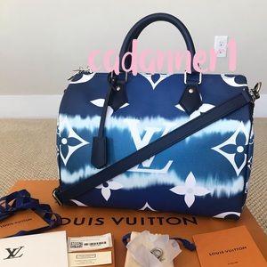 💯Authentic Louis Vuitton Escale Speedy B